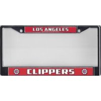 Los Angeles Clippers Chrome License Plate Frame  Free Screw Caps with this Frame
