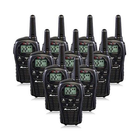 Midland Lxt500vp3  10 Pack  2Way Radio