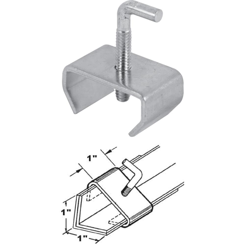 Prime Line Products 241947 Bed Frame Rail Clamp, 1-In., 2-Pack
