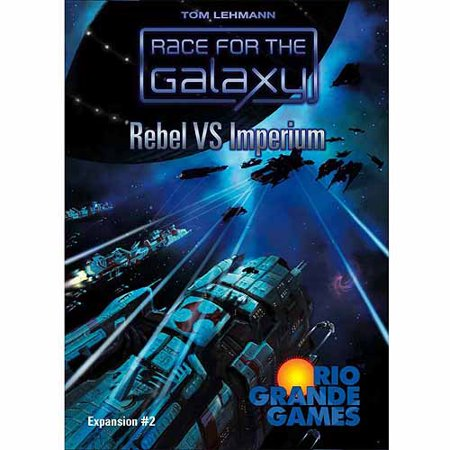 Halloween Relay Races Game (Rio Grande Games Race for the Galaxy: Rebel Vs.)
