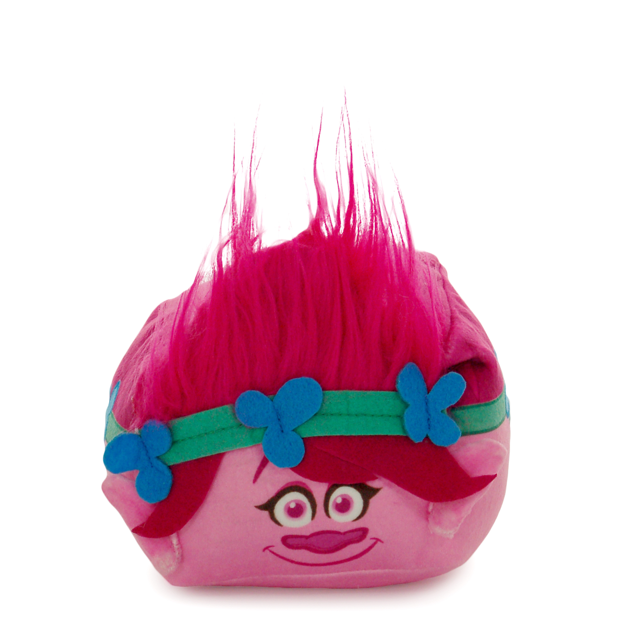 Trolls Poppy 3D Ultra Stretch Mini Cloud Cube Travel Pillow, 1 Each