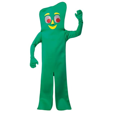Gumby Halloween (Gumby Men's Adult Halloween Costume, One Size,)