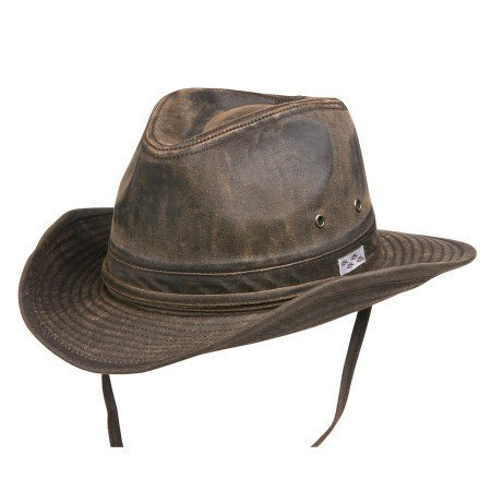 7144d475798 Conner Hats Men s Bounty Hunter Water Resistant Cotton Hat - Large Brown