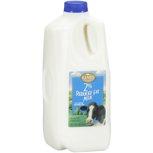 Kemps 2% Reduced Fat Milk, .5 gal