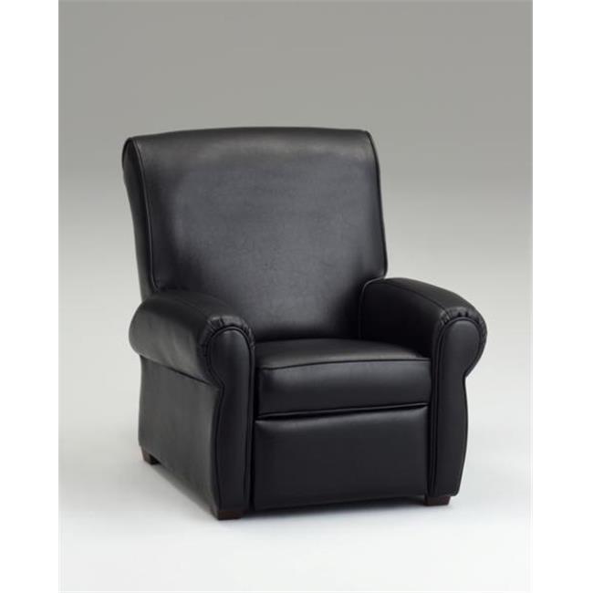 Dozydotes 11949 Big Kids Recliner - Black Leather Like