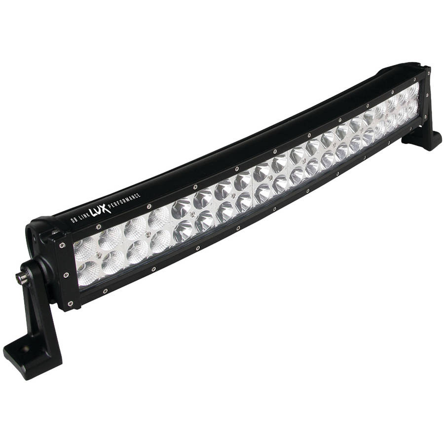 "DB Link DBLXC24C Lux Performance Curved LED Light Bar with Combo Spot/Flood Light Pattern, 24"", 40 LEDs, 6,200 Lumens"