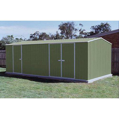 ABSCO Sheds 60303HK Highlander 20 x 10 ft. Storage Shed