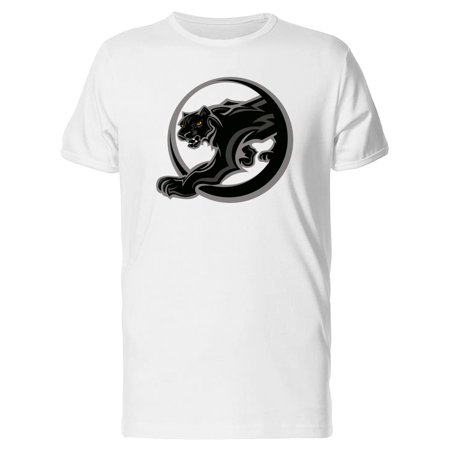 Black Panther Mascot, Grunge Tee Men's -Image by Shutterstock (Panther Mascot)