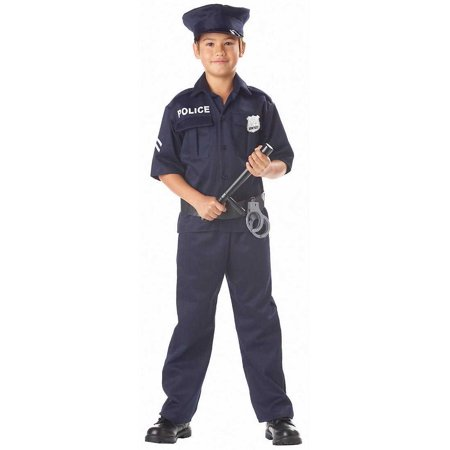Child Police Uniform Costume California Costumes 343