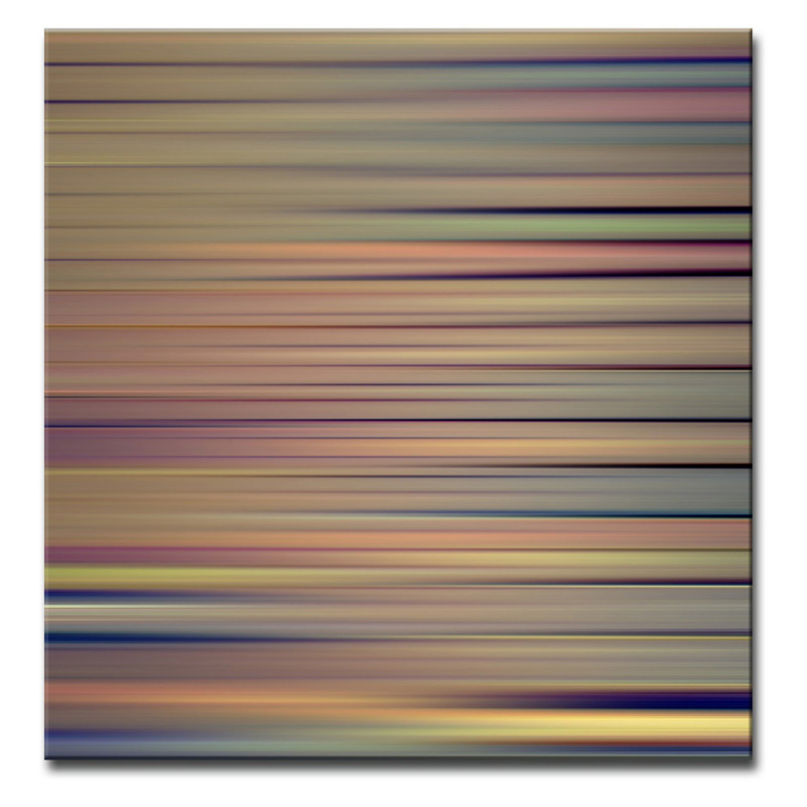 Ready2HangArt Blur Stripes VIII Wrapped Canvas Wall Art