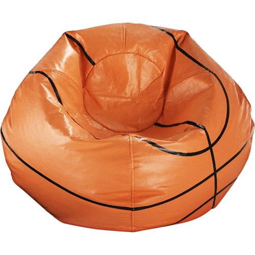 96 Quot Round Vinyl Bean Bag Basketball Walmart Com
