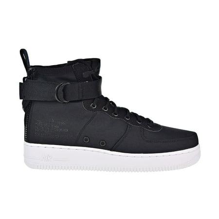 Nike Air Force 1 De Mid Sf Hombres Zapatillas De 1 Baloncesto Negro  Antracita 585aad
