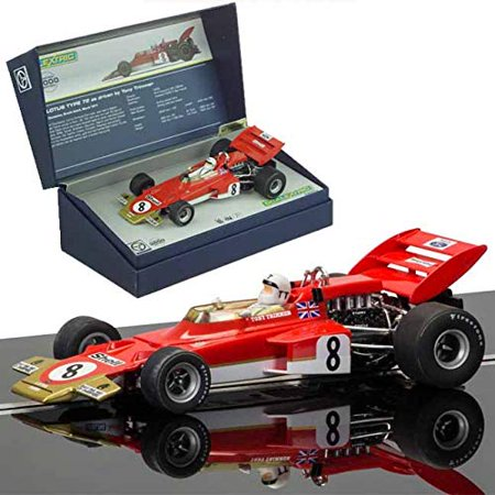 Scalextric C3657a Lotus 72 Tony Trimmer Legends Limited Edition Slot Car 1 32 Scale