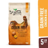 Purina Beyond Grain Free, Natural Dry Cat Food, Grain Free White Meat Chicken & Egg Recipe, 5 lb. Bag