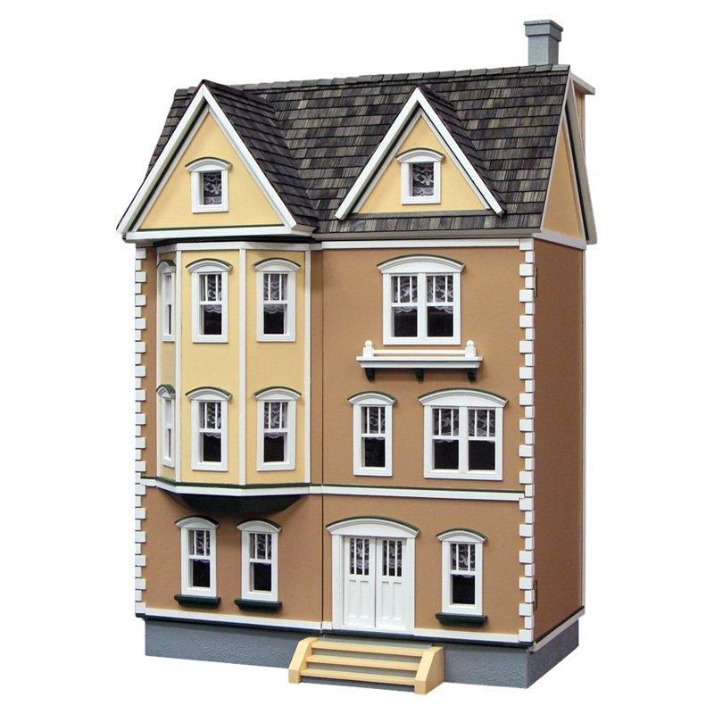 Real Good Toys East Side Townhouse in 1\/2 Inch Scale Dollhouse