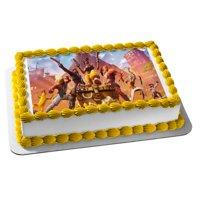 Fortnite Season 9 Luxe Assorted Skins Edible Cake Topper Image