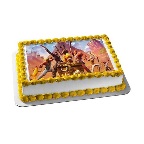 Fortnite Season 9 Luxe Assorted Skins Edible Cake Topper Image 1 4 Sheet Abpid35585 Walmart Com Walmart Com This challenge can take you a bit. fortnite season 9 luxe assorted skins edible cake topper image 1 4 sheet abpid35585