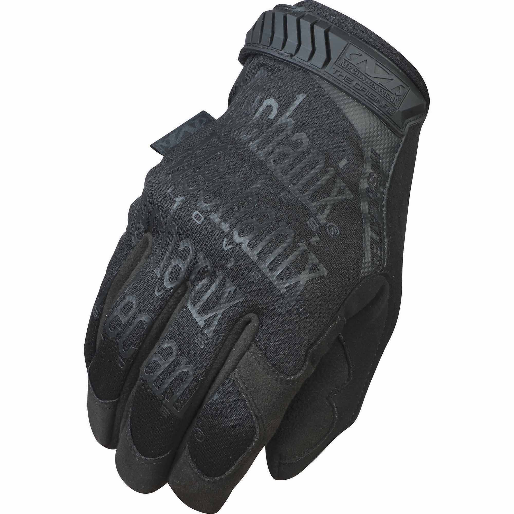 Insulated leather motorcycle gloves - Mechanix Insulated Glove Black