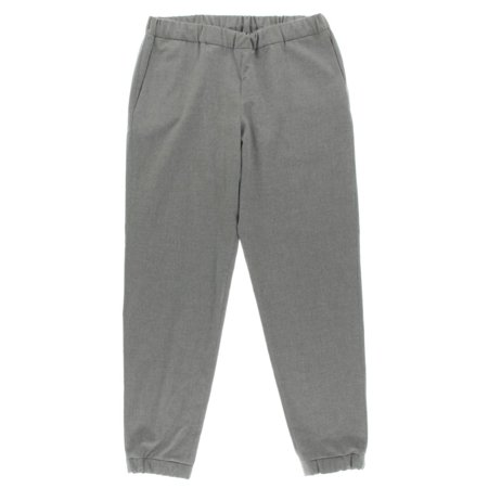 French Connection Womens Flannel Flat Front Jogger Pants