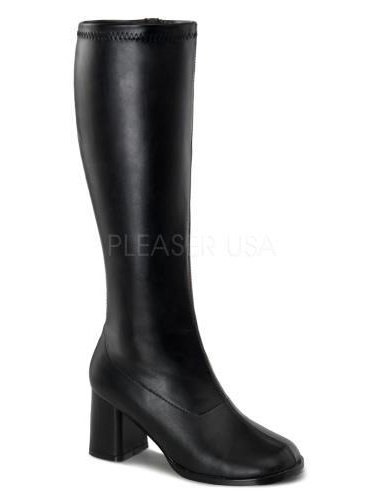 GOGO300WC/B/PU Funtasma Plus Sizes & Wide Width/Shaft Shoes BLACK Size: 16