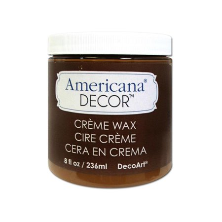 Decoart Americana Decor Creme Wax 8Oz Goldenbrwn