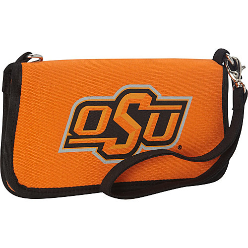 Oklahoma State University Canvas Clutch Wallet