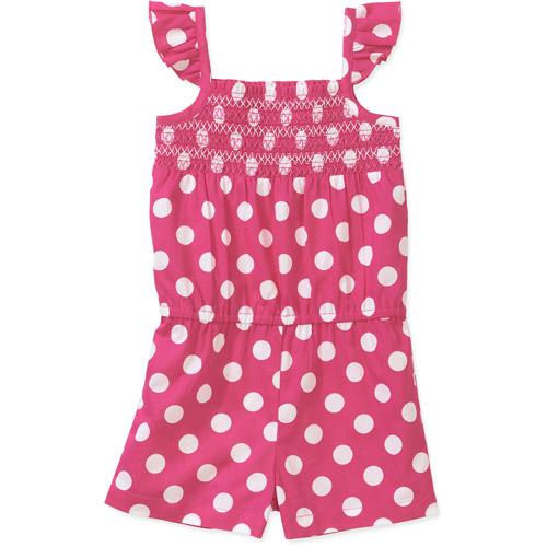 Healthtex Baby Toddler Girl Woven Essential Romper