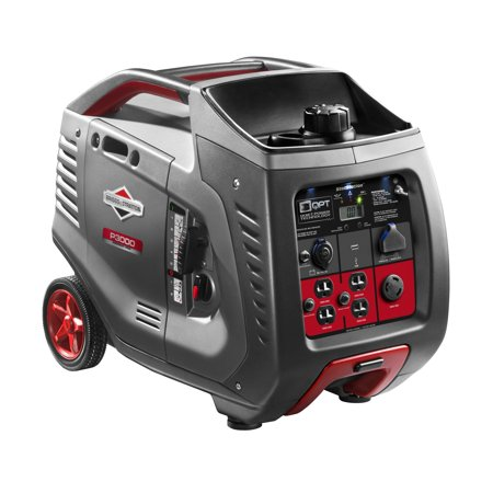 Briggs & Stratton P3000 PowerSmart Series Inverter Generator Briggs & Stratton Electric Generator