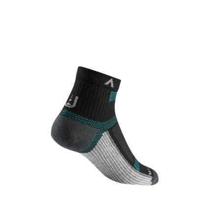 - WigWam Ultra Cool Lite Quarter Black II Socks F6282-22F