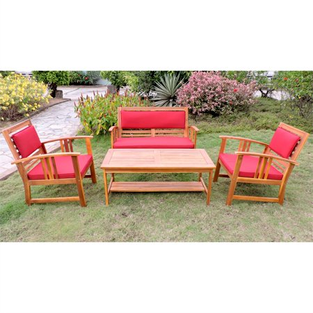 Brisbane 4-Piece Patio Conversation Set ()