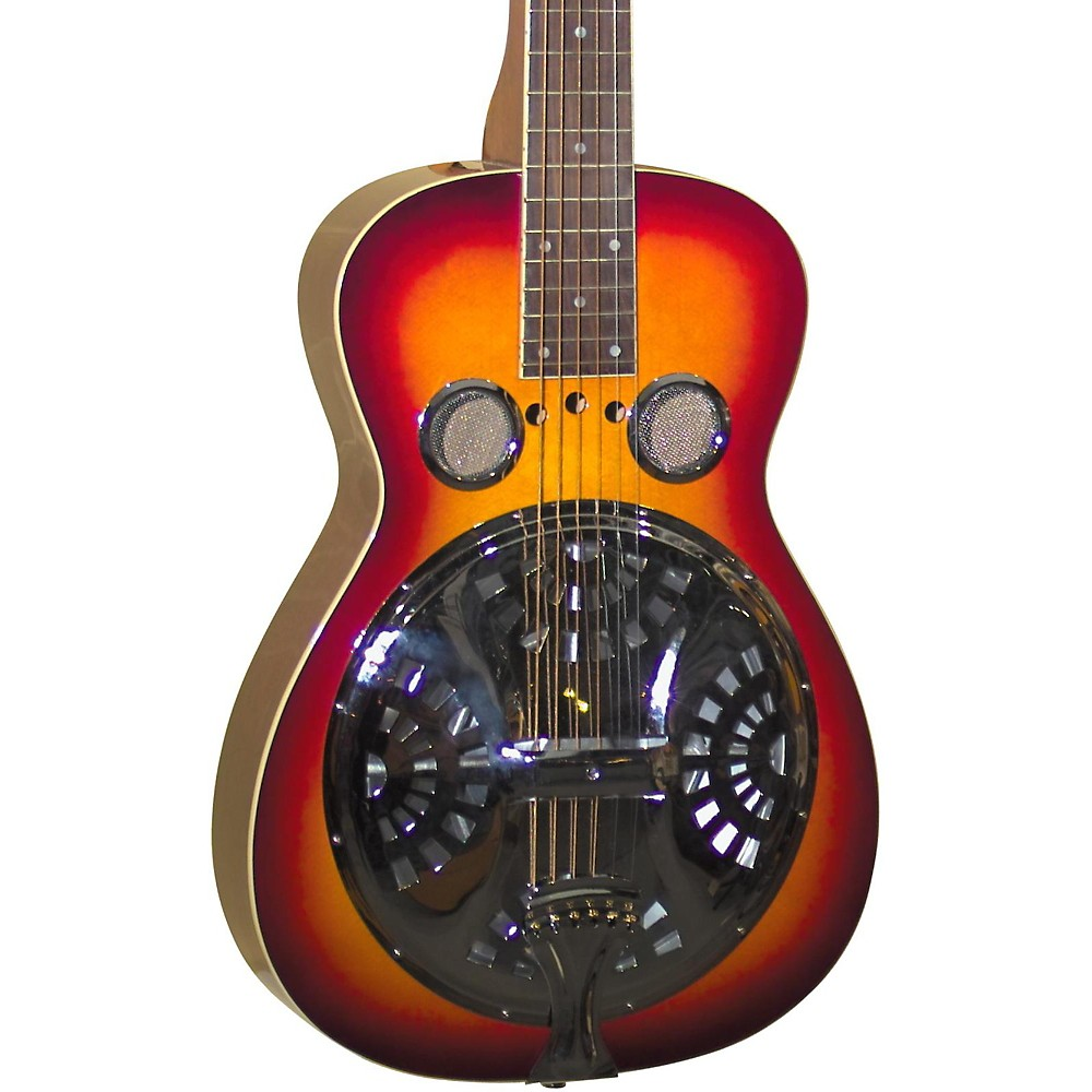 Regal RD-40 Resonator Cherry Sunburst Square Neck by Regal