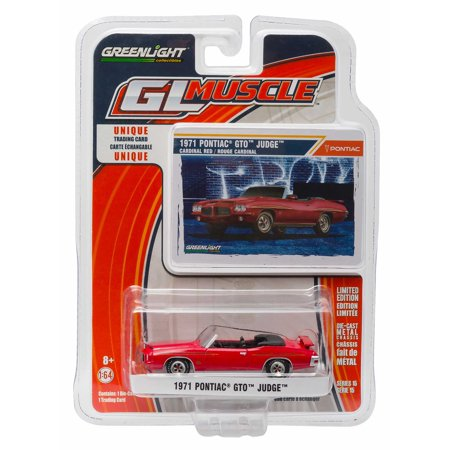 GL Muscle Series: 1971 Pontiac GTO Judge Convertible 1/64 Scale