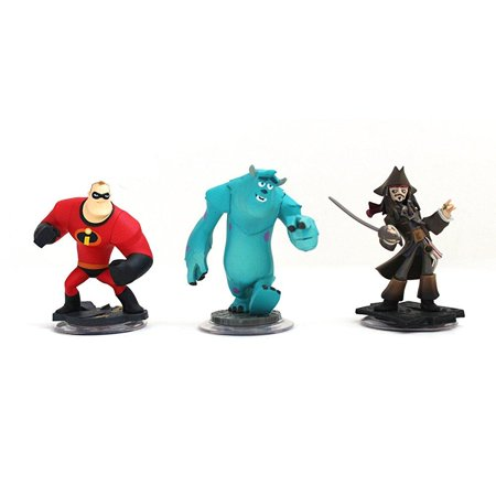 disney infinity characters jack sparrow mr incredible, monster inc sully wii ... - Disney Character Ideas For Dressing Up