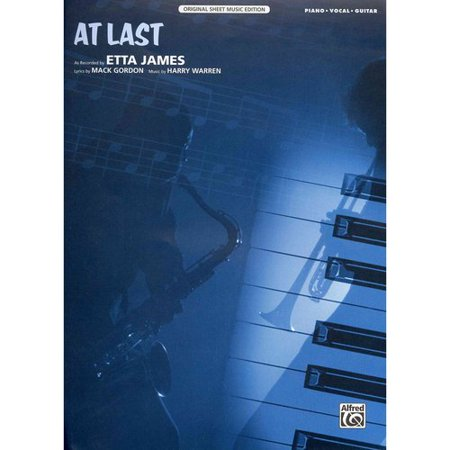At Last: Piano   Vocal   Guitar by