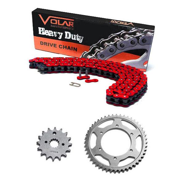 Heavy Duty Volar Chain and Sprocket Kit Black for 2011-2020 KTM 350 SXF