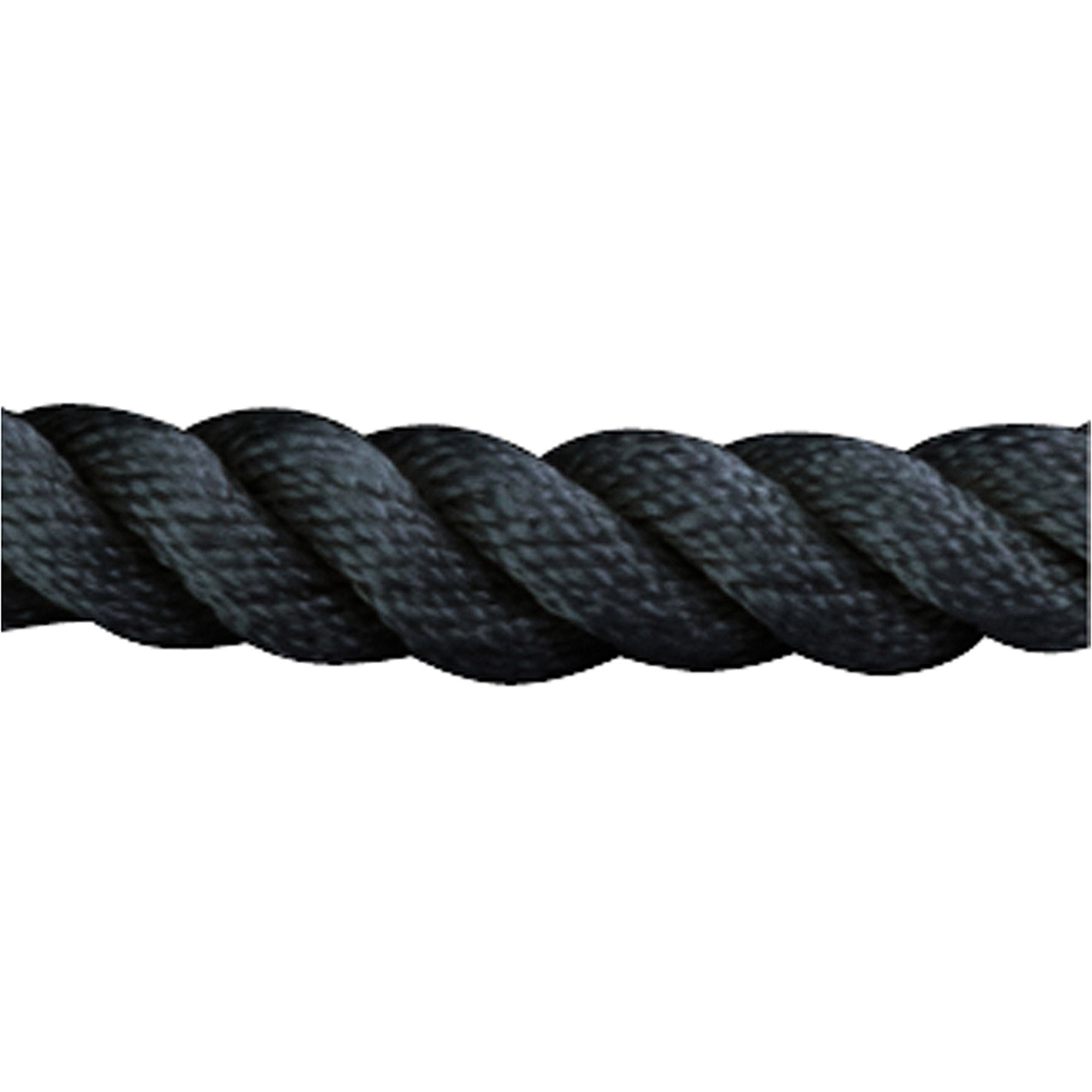 "Sea Dog Dock Line, Twisted Nylon, 3 8"" x 15', Black by Sea Dog"