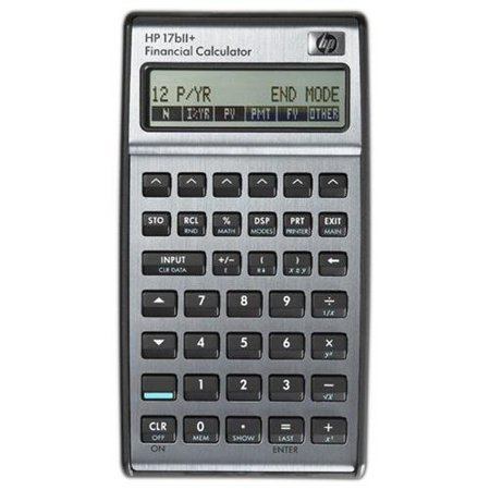 Hp 17Bii  Financial Calculator   250 Functions   2 Line S    22 Character S    Lcd   Battery Powered  F2234a Aba