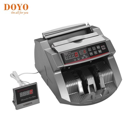 DOYO Money Counter Automatic Cash Currency Counting Machine with UV Counterfeit Bill Detector Uv Currency Counter