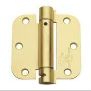 Global Door Controls 3.5'' H   3.5'' W Spring Pair Door Hinges (Set of 2)