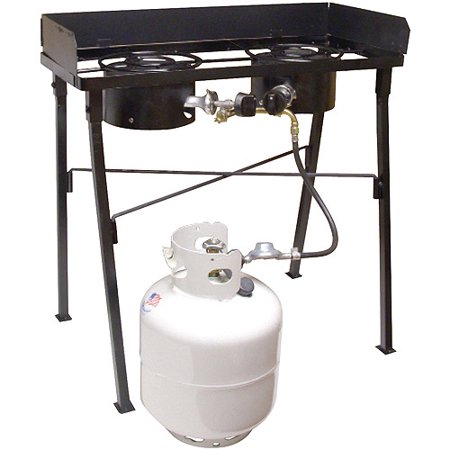 King kooker low pressure dual burner portable propane for Walmart fish fryer