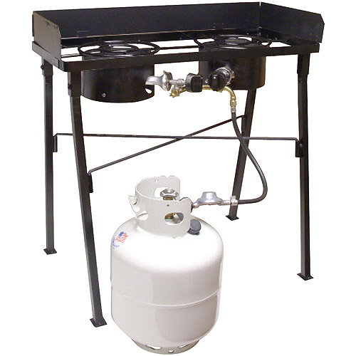 King Kooker Low Pressure Dual Burner Portable Propane Outdoor Cooker