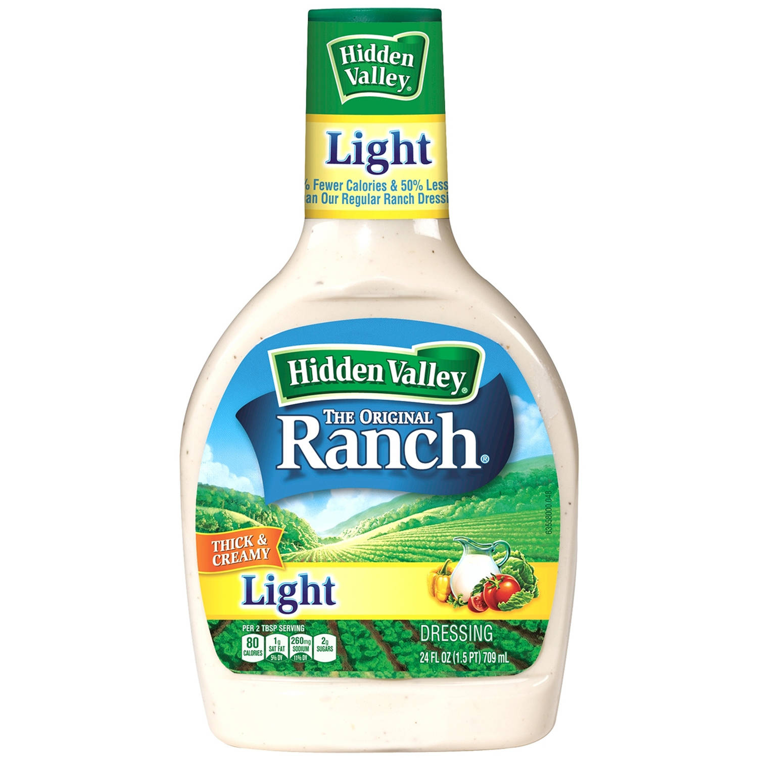 Hidden Valley Original Ranch Light Dressing, 24 Fluid Ounce Bottle