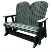 Double Glider by Malibu Outdoor - Hyannis, Turf Green