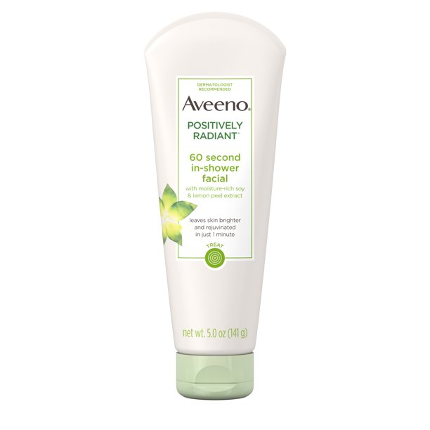 Aveeno Positively Radiant Gylcolic Acid Face Treatment, 5 oz