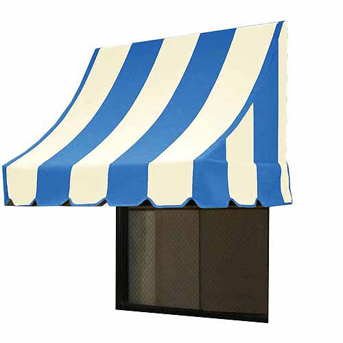 Nantucket Crescent Shaped Awning