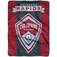 "Colorado Rapids The Northwest Company 60"" x 80"" Raschel Throw Blanket - Burgundy"