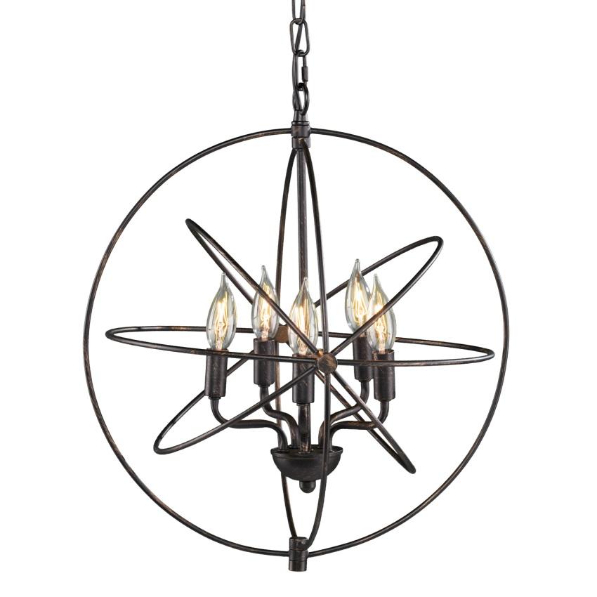 Nova 5 Light Orb Pendant Lamp