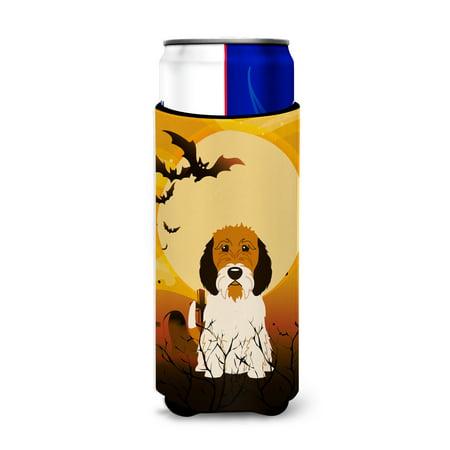 Halloween Petit Basset Griffon Veenden Michelob Ultra Hugger for slim cans BB4345MUK (Halloween Petit Fours)