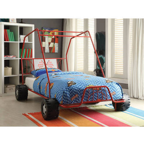 Xander Twin Bed, Red