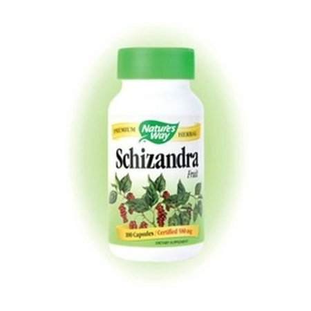 - Nature's Way Premium Herbal Shizandra Fruit, 100 Cp